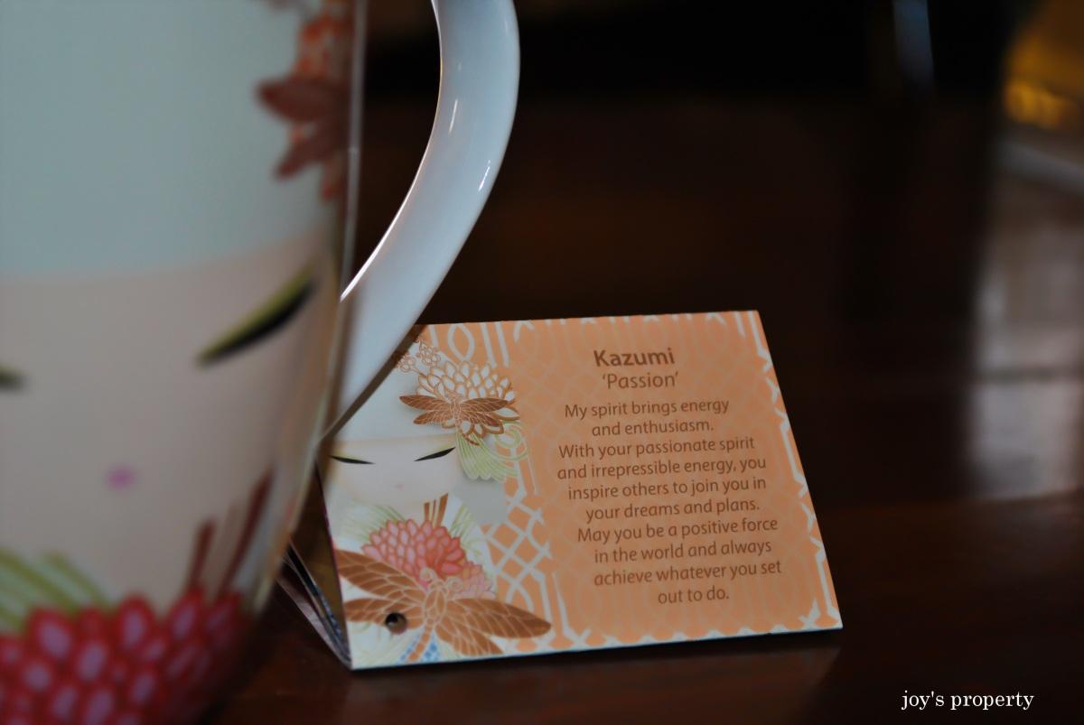 Kimmidoll Mug: Kazumi and Masayo