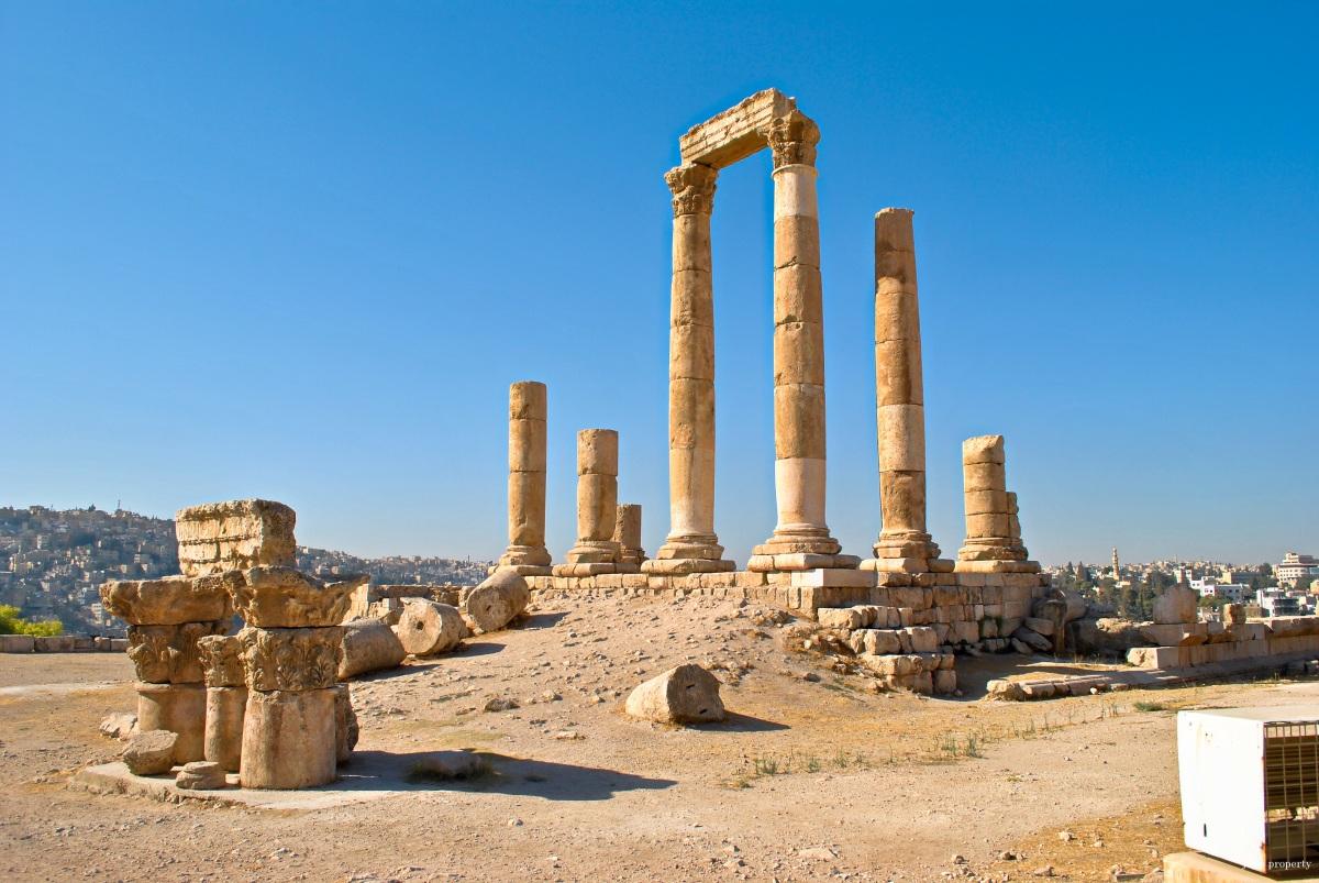 Jordan: Amman Citadel & Roman Amphitheater