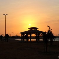 Yanbu KSA | Chasing Sunset at the Waterfront Park