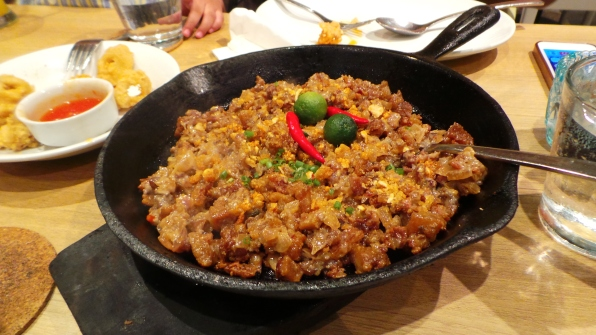 Crispy Pork Sisig