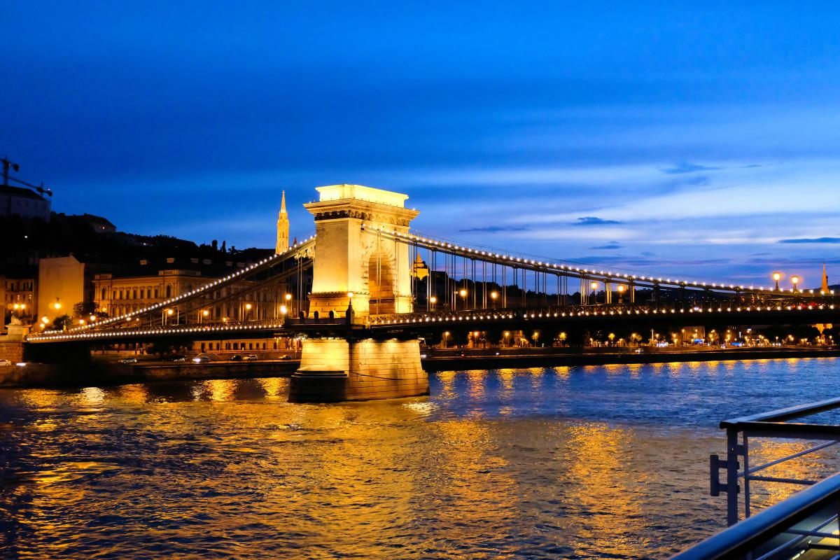 Cruising The Danube River - Budapest, Hungary