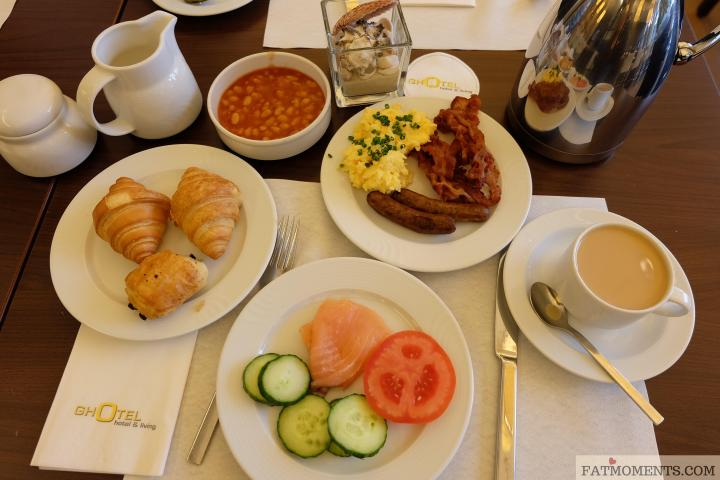 Ghotel Breakfast