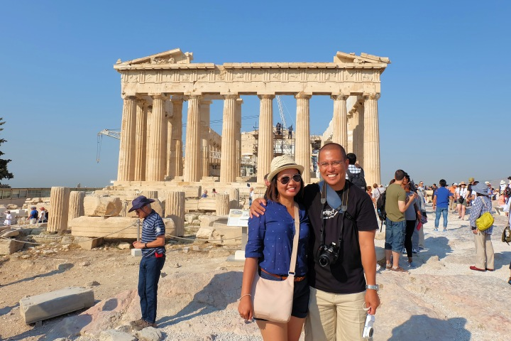 Derick&Joy Parthenon