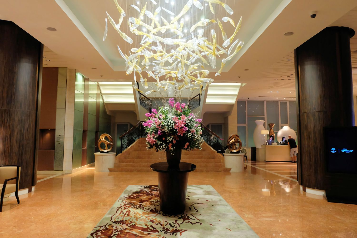 Hotel Review: Fairmont Makati, Philippines – Food and Travel Moments