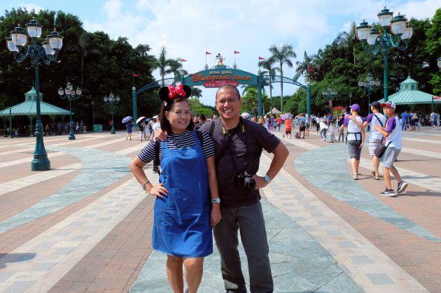 Derick & Joy Disneyland HK
