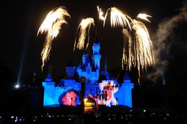 Disney Fireworks