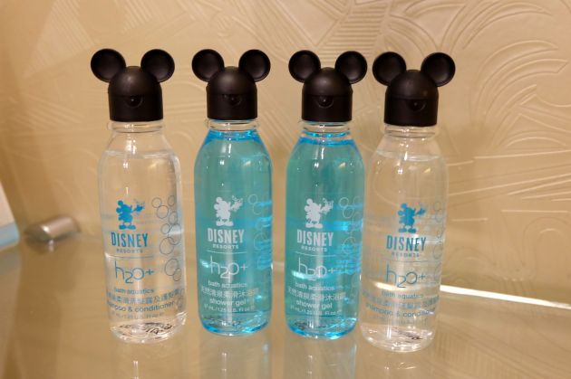 Disney Hollywood Hotel Toiletries