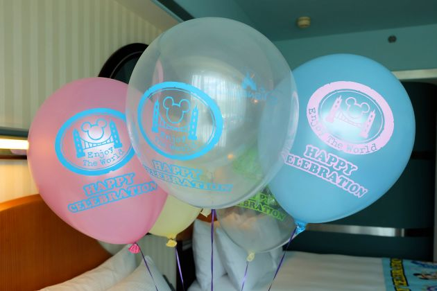 Disney Hollywood Hotel Welcome Balloon