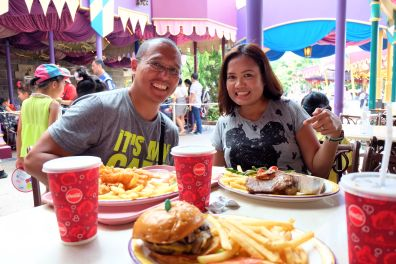 Disneyland Lunch