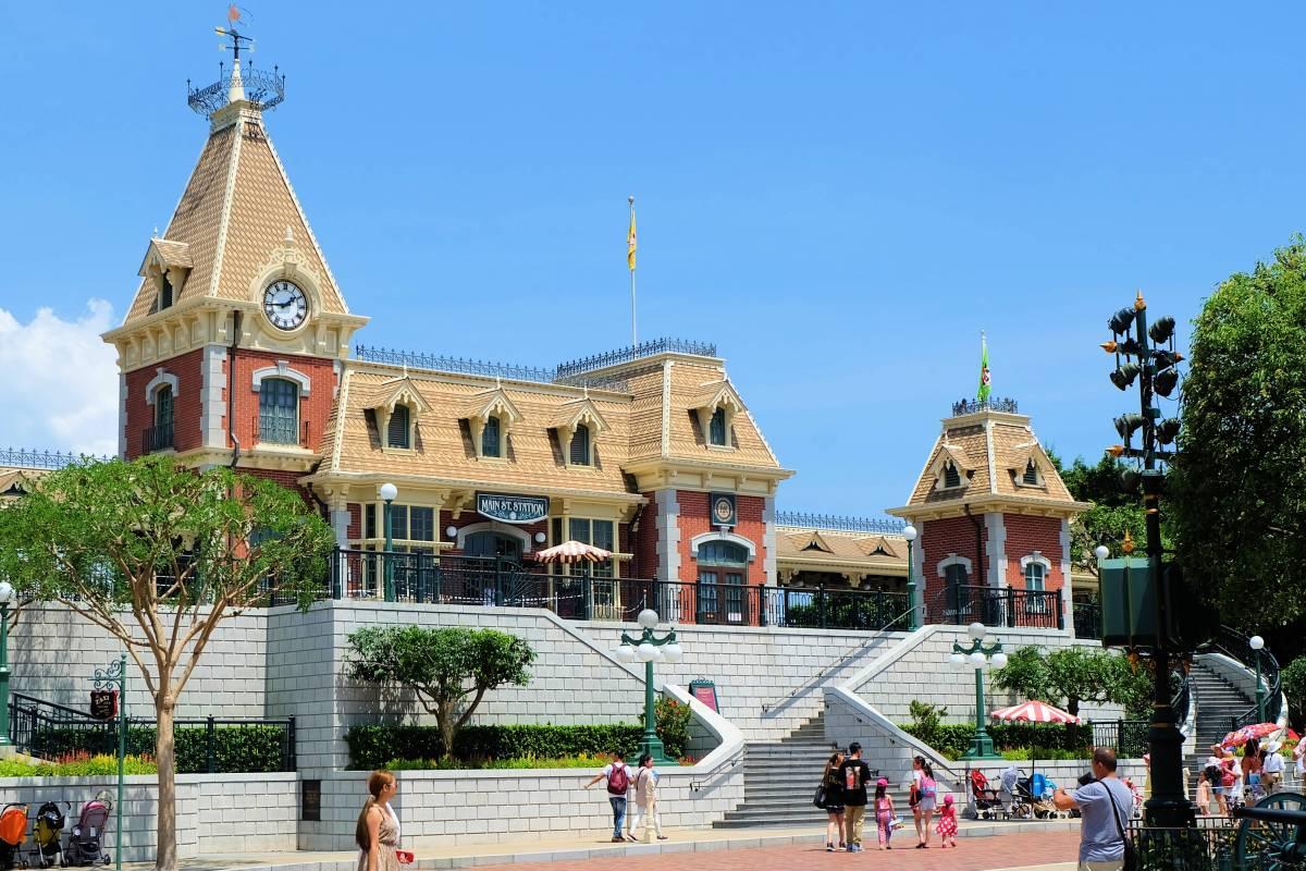 HK Disneyland Entrance 1