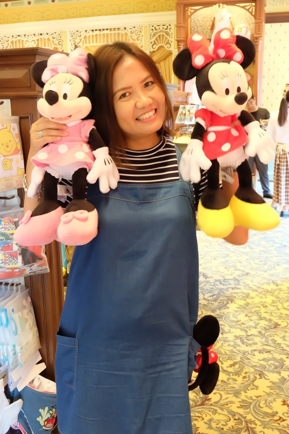 Joy at Disneyland HK