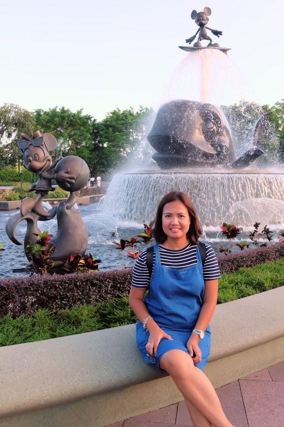 Joy at the Fountain