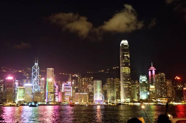 Light Show Hong Kong