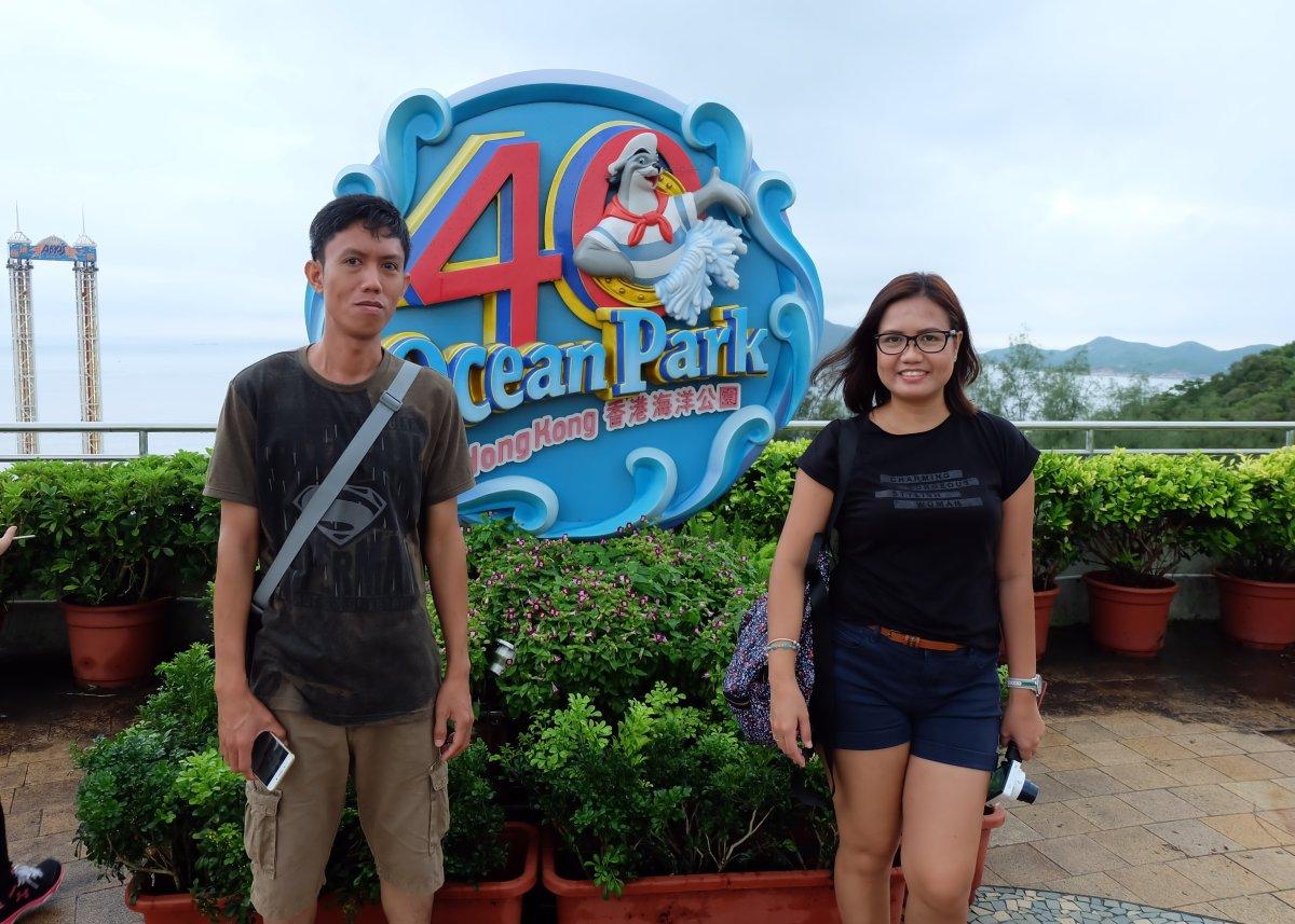 Me & Kuya in Ocean Park
