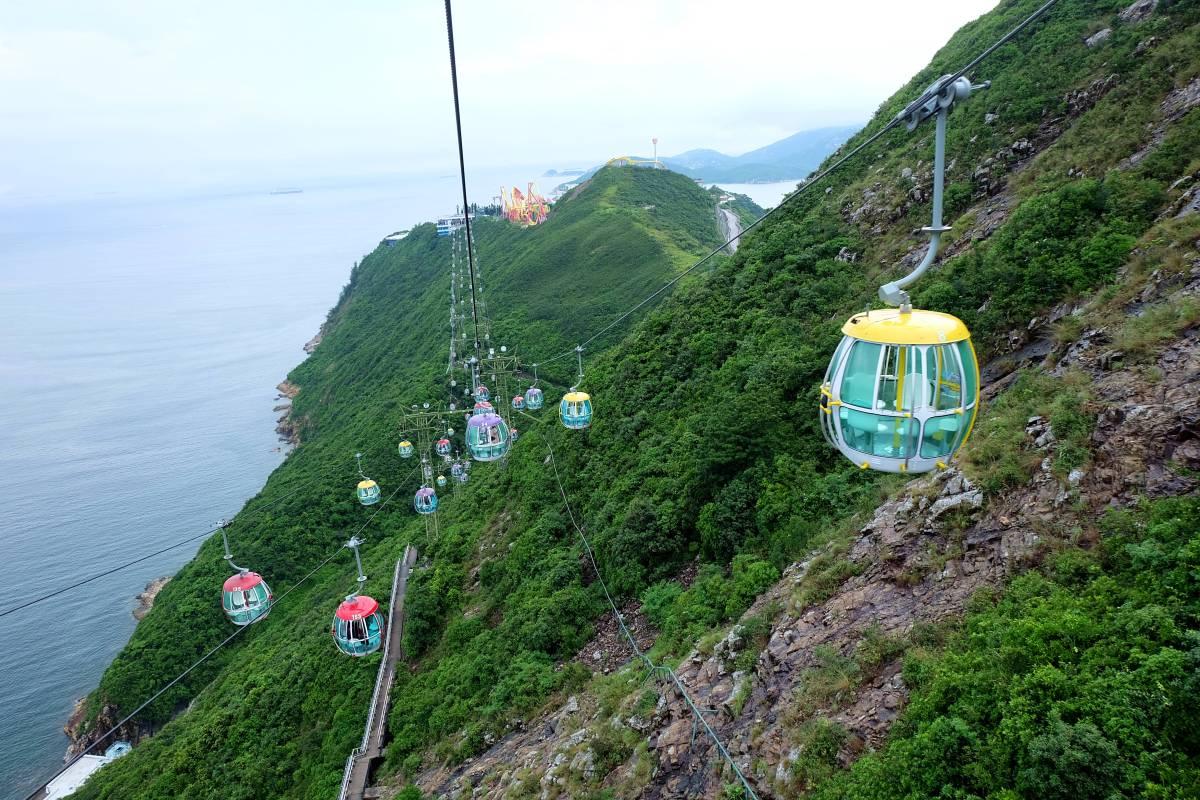 Ocean Park Cable Car 1