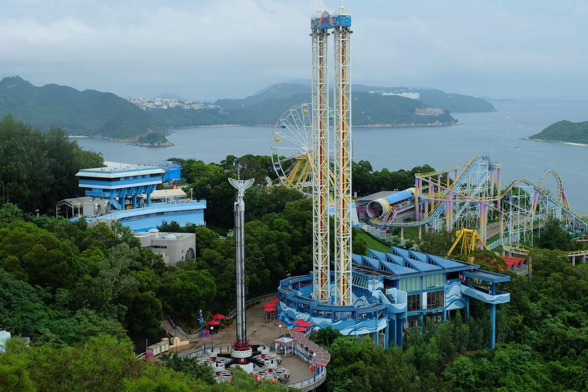 Ocean Park Rides 2
