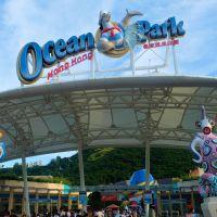FAT-Moments In Ocean Park Hong Kong