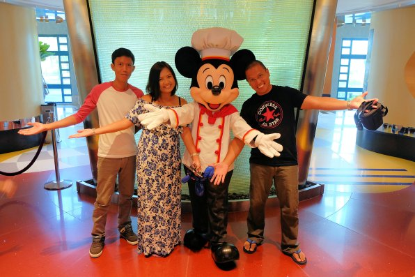 With Chef Mickey