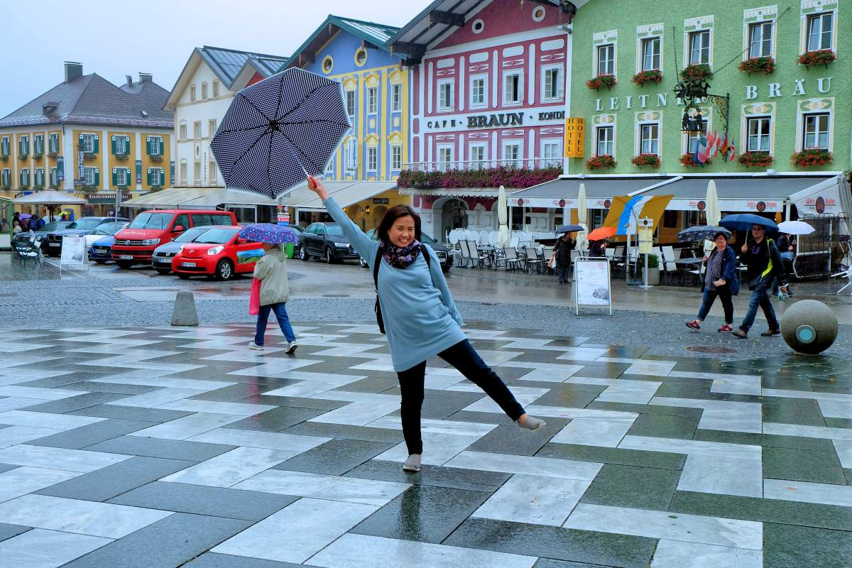 Dance in the rain Joy - Mondsee