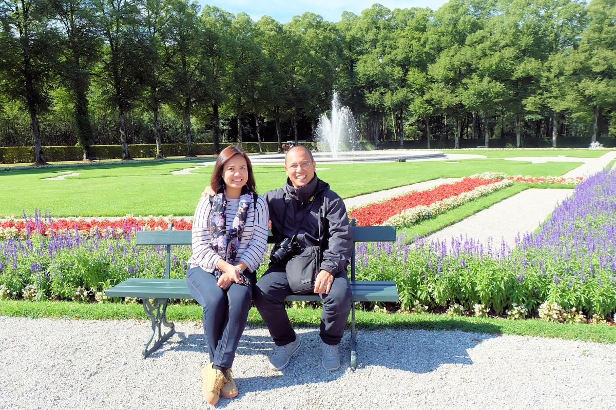 Derick & Joy at Herrencheimsee