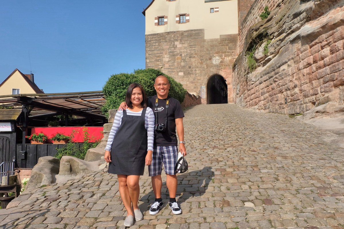 Derick & Joy at Nuremberg Castle
