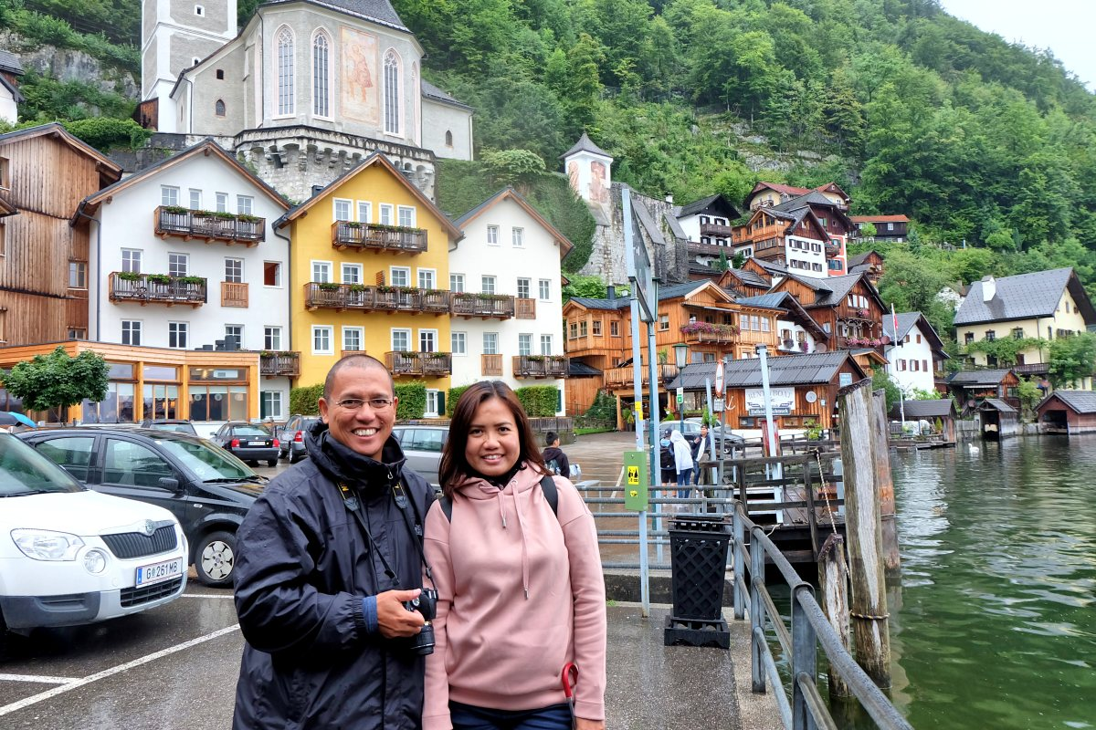 Derick & Joy in Hallstatt
