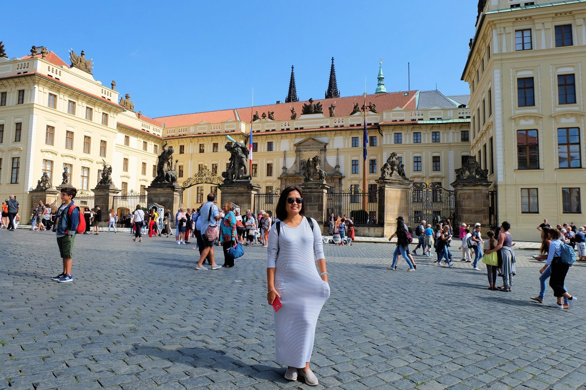 Joy at Prague Castle