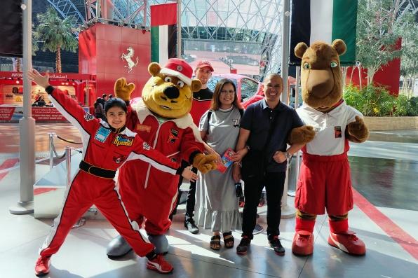 Ferrari World Mascots