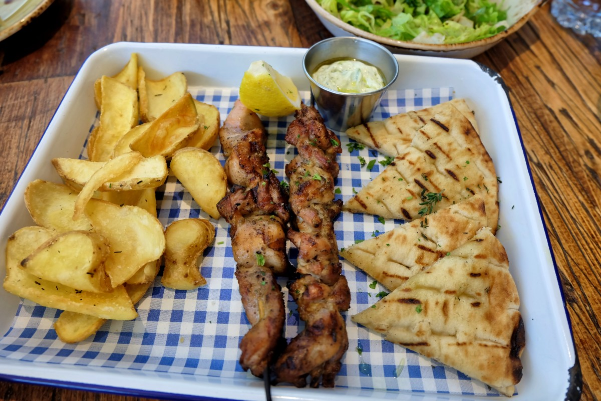Eat Greek Souvlaki