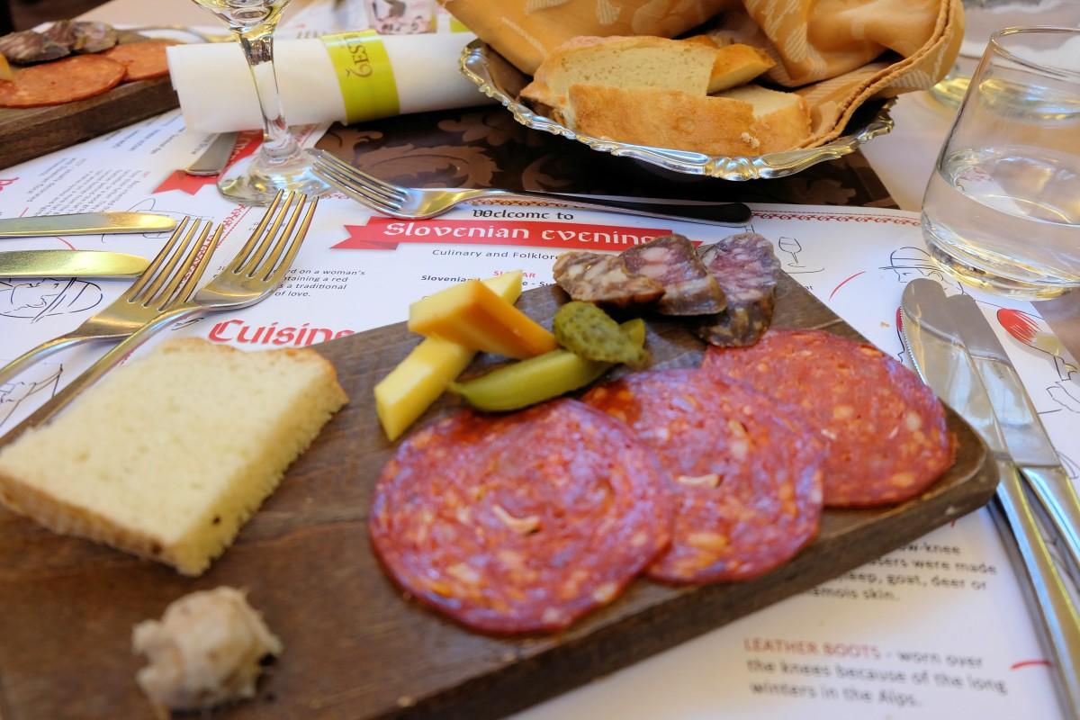 Slovenian Dinner Starter