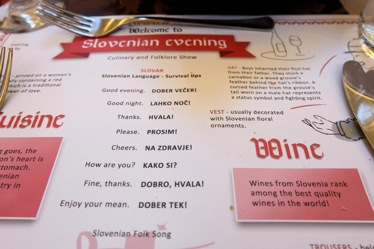 Slovenian Evening