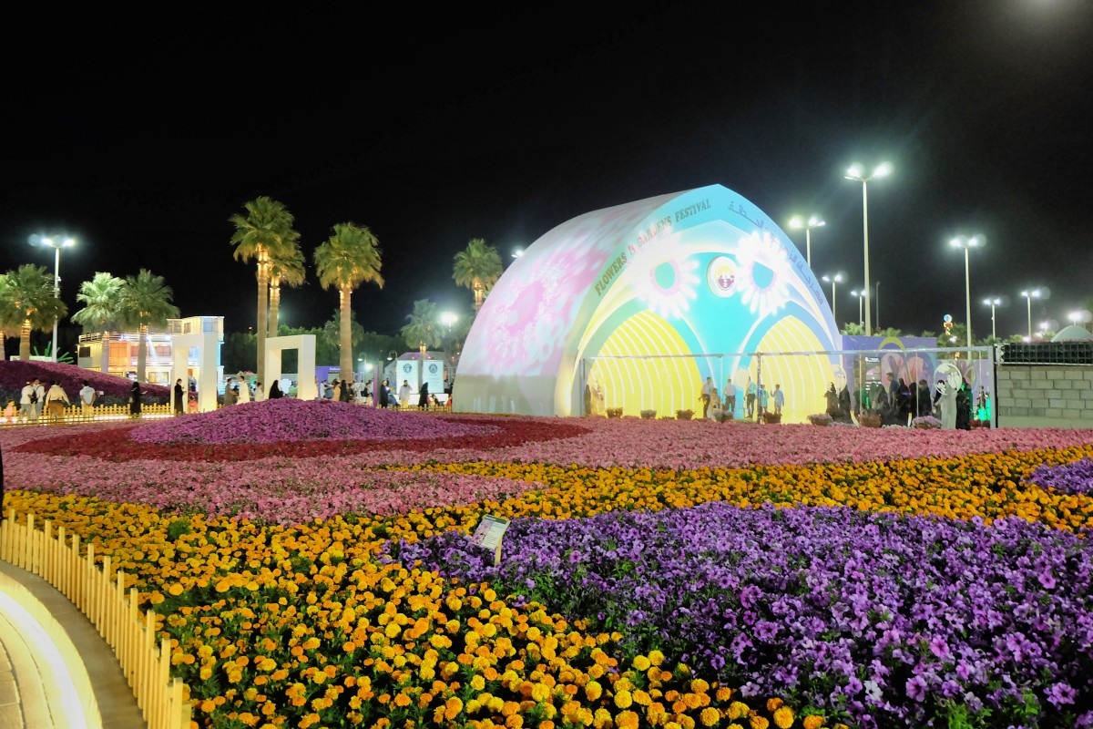 In Full Bloom: Yanbu Flower Festival 2018