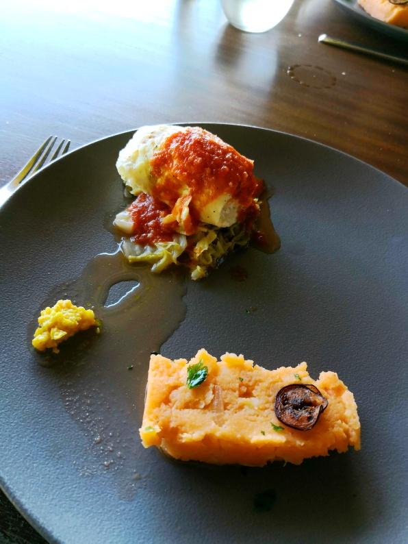 Main - Fish and mashed potato