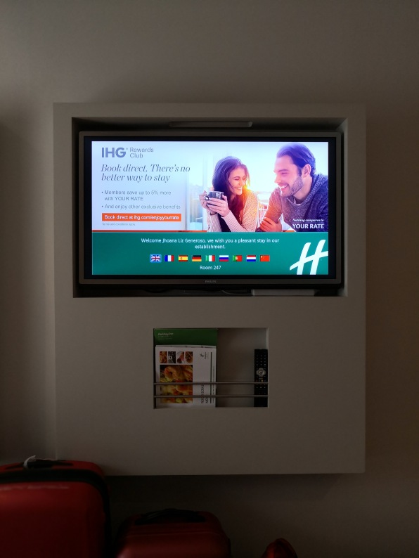 Welcome message for IHG Members
