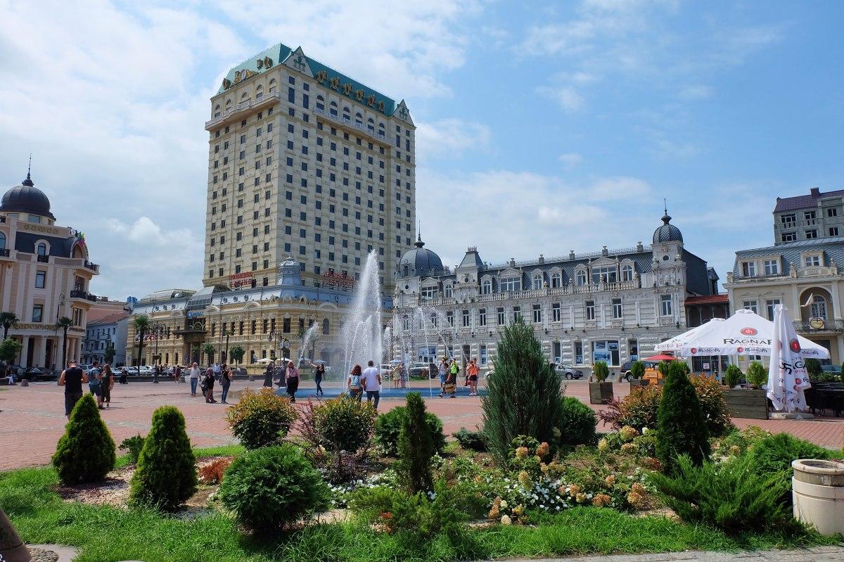 Batumi Europe Square 04