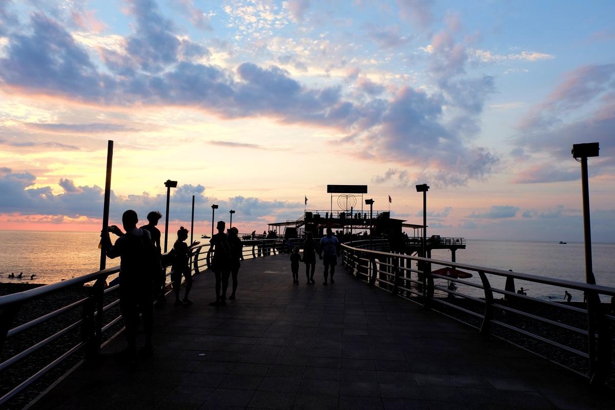 Batumi Sunset 01