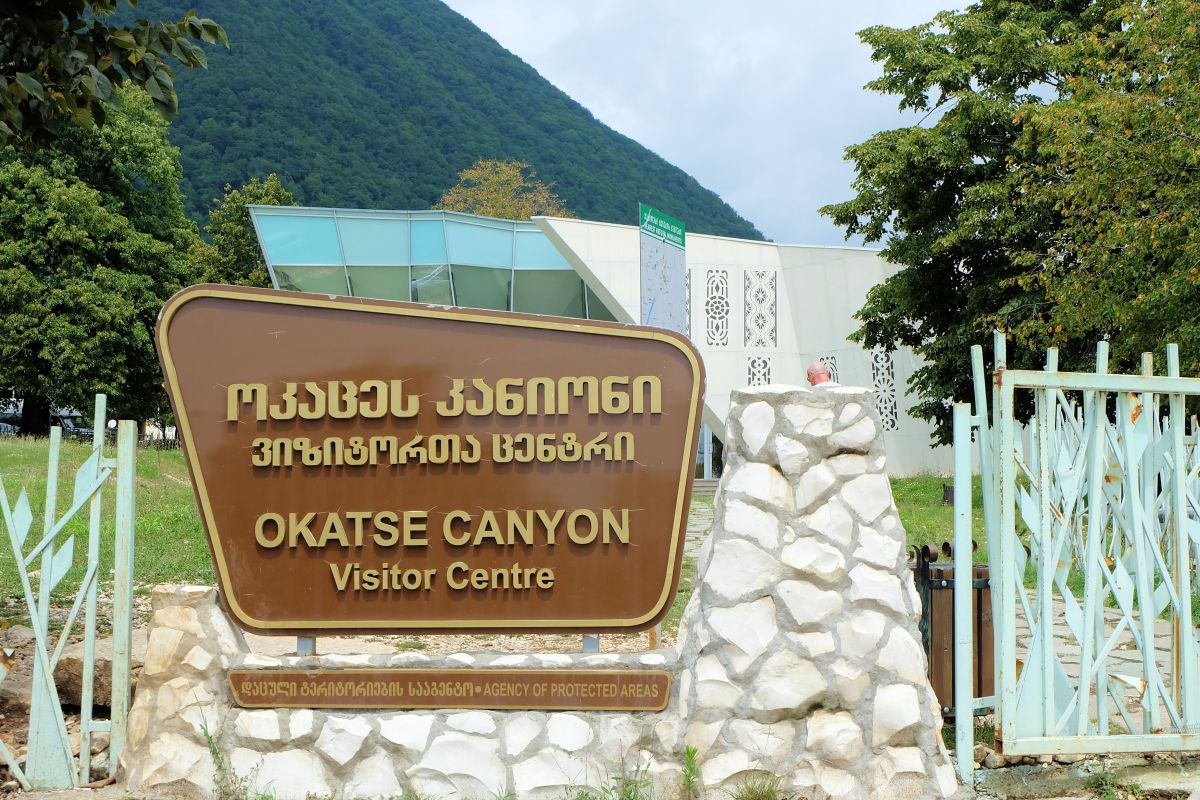 Okatse Canyon