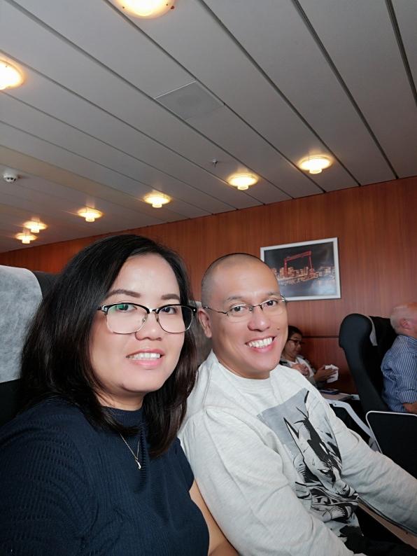 On board StenaLine