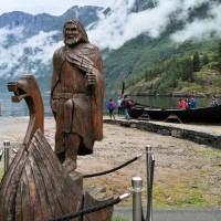 In Photos: The Viking Village & Nærøyfjord Cruise In Norway